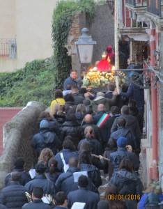 processione con sindaco