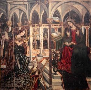 Maria SS. Annunziata dei Catalani con Santa Eulalia