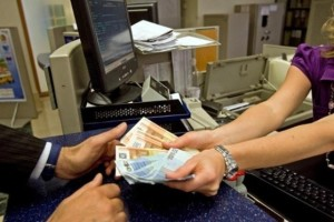 cassiere banca