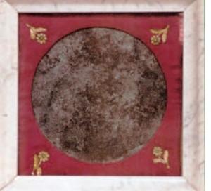 La Mattonella macchiata dal sangue di Sant'Antonio