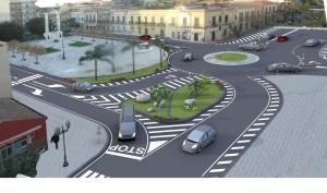rotatoria piazza roma